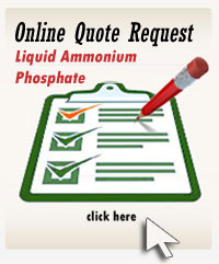 Online Quote Request Form for Liquid Ammonium Phosphate 10-34-0