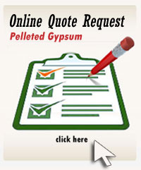 Online Quote Request Form for Pelleted Pelletized Gypsum