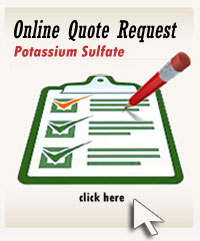 Fertilizer Brokerate Online Quote Request Form for Potassium Sulfate 0-0-50